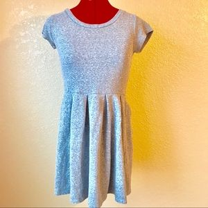 Gap Gray Fit Flare Dress XS